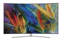 Samsung QE49Q7CGMT 49Zoll 4K Ultra HD Smart-TV WLAN Schwarz, Silber LED-Fernseher (Schwarz, Silber)