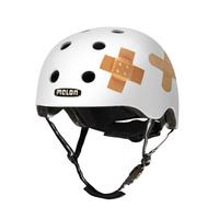 Melon Helmets Plastered White Vollschale M/L Weiß Fahrradhelm (Weiß)