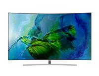 Samsung QE65Q8C 65Zoll 4K Ultra HD Smart-TV WLAN Silber, Edelstahl LED-Fernseher (Silber, Edelstahl)
