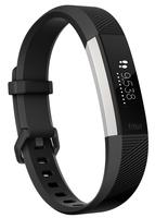 Fitbit Alta HR Wristband activity tracker OLED Verkabelt/Kabellos Schwarz, Edelstahl (Schwarz, Edelstahl)