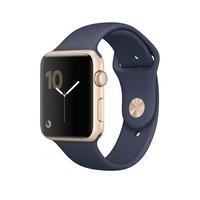 Apple Watch Series 1 OLED 30g Gold Smartwatch (Blau, Gold)