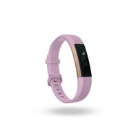 Fitbit Alta HR Wristband activity tracker OLED Kabellos Rosa-Goldfarben (Rosa-Goldfarben)