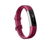 Fitbit Alta HR Wristband activity tracker OLED Verkabelt/Kabellos Rot, Edelstahl (Rot, Edelstahl)