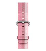 Apple 38 mm Armband aus gewebtem Nylon, Beere (Pink, Violett)