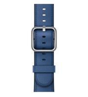 Apple 38 mm Klassisches Lederarmband, Saphir (Blau)