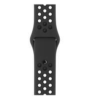 Apple 38 mm Nike Sportarmband, Anthrazit/Schwarz (Anthrazit, Schwarz)