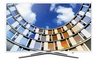 Samsung UE55M5580 55Zoll Full HD Smart-TV WLAN Weiß LED-Fernseher (Weiß)