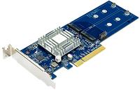 Synology M2D17 Eingebaut M.2 Schnittstellenkarte/Adapter (Blau)