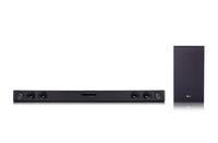 LG SJ3 2.1Kanäle 300W Schwarz Soundbar-Lautsprecher (Schwarz)