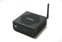 Zotac ZBOX CI327 nano 1.1GHz N3450 1L Größe PC Schwarz Mini-PC (Schwarz)