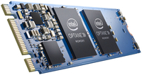 Intel MEMPEK1W032GAXT 32GB M.2 PCI Express 3.0 Solid State Drive (SSD) (Schwarz, Blau)