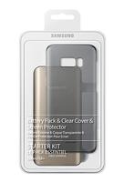 Samsung EB-WG95 Schwarz Handy-Starterset (Schwarz, Gold)
