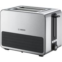 Bosch TAT7S25 2Scheibe(n) 1050W Schwarz, Grau Toaster (Schwarz, Grau)