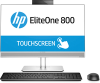 HP EliteOne 800 G3 All-in-One-PC, 23,8 Zoll, GPU, Touch-Funktion (Silber)