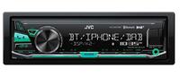 JVC KD-X441DBT Bluetooth Schwarz Auto Media-Receiver (Schwarz)