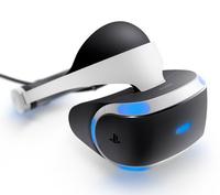 Sony PlayStation VR Dediziertes obenmontiertes Display 610g Schwarz, Weiß (Schwarz, Weiß)