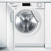Candy CBWD 8514D-S Eingebaut Frontlader 8kg 1400RPM A Weiß Waschmaschine (Weiß)