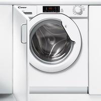 Candy CBWM 814D-S Eingebaut Frontlader 8kg 1400RPM A+++ Weiß Waschmaschine (Weiß)