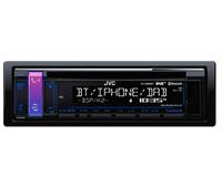 JVC KD-DB98BT Bluetooth Schwarz Auto Media-Receiver (Schwarz)