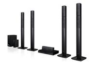 LG LHB655NW Tower 1000W Schwarz Home-Stereoanlage (Schwarz)