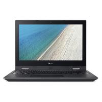 Acer TravelMate Spin B1 B118-RN-P10F 1.1GHz N4200 11.6Zoll 1920 x 1080Pixel Touchscreen Schwarz Hybrid (2-in-1) (Schwarz)