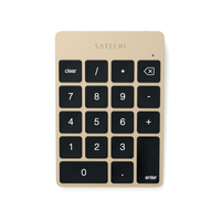 Satechi ST-SALKPG Notebook / PC Bluetooth Gold Numerische Tastatur (Gold)