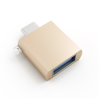 Satechi ST-TCUAG USB C USB A Gold Kabelschnittstellen-/adapter (Gold)