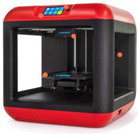 Flashforge Finder Schmelzfadenherstellung (FFF) WLAN 3D-Drucker (Schwarz, Rot)