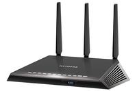 Netgear R6800 Dual-Band (2,4 GHz/5 GHz) Gigabit Ethernet Schwarz WLAN-Router (Schwarz)