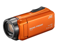 JVC GZ-R435 Handkamerarekorder 2.5MP CMOS Full HD Orange (Orange)