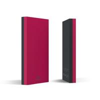 Hama Sportive Lithium Polymer (LiPo) 8000mAh Grau Akkuladegerät (Grau, Pink)