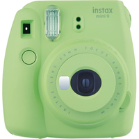 Fujifilm Instax Mini 9 62 x 46mm Grün, Limette Sofortbild-Kamera (Grün, Limette)