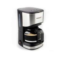 Korona 12015 Freistehend Vollautomatisch Pad-Kaffeemaschine 0.7l 5Tassen Schwarz, Edelstahl Kaffeemaschine (Schwarz, Edelstahl)
