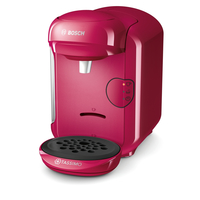 Bosch TASSIMO VIVY 2 Freistehend Vollautomatisch Kombi-Kaffeemaschine 0.7l Pink (Pink)