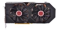 XFX RX-580P8DFD6 Radeon RX 580 8GB GDDR5 Grafikkarte (Schwarz)