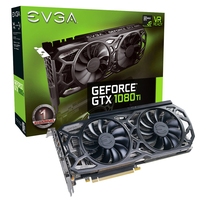 EVGA GeForce GTX 1080 Ti SC Black Edition GAMING GeForce GTX 1080 Ti 11GB GDDR5X (Schwarz, Grau)