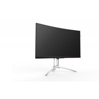 AOC AG322QCX 31.5Zoll Quad HD MVA Schwarz, Silber Computerbildschirm (Schwarz, Silber)
