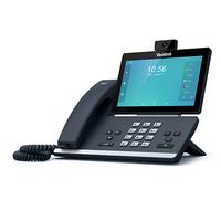Yealink SIP-T58V Kabelgebundenes Mobilteil LCD WLAN IP-Telefon (Schwarz)
