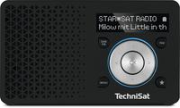 TechniSat DIGITRADIO 1 Tragbar Analog & digital Schwarz, Silber Radio (Schwarz, Silber)