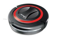 Vileda Robot VR 301 Beutellos 0.35l Schwarz, Rot Roboter-Staubsauger (Schwarz, Rot)