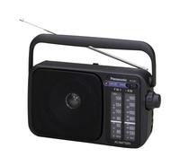 Panasonic RF-2400D Tragbar Analog Schwarz Radio (Schwarz)