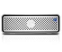 G-Technology G-DRIVE Thunderbolt 3 6000GB Silber Externe Festplatte (Silber)