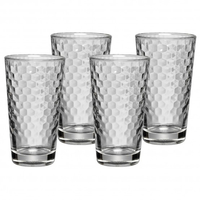 WMF Latte Macchiato Set 4-teilig (Transparent)