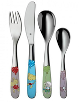 WMF Lillebi & Friends Toddler cutlery set Mehrfarben, Edelstahl Edelstahl (Mehrfarben, Edelstahl)