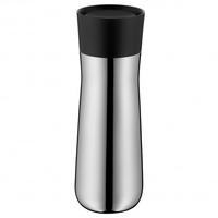 WMF Impulse 0.35l Schwarz, Edelstahl Thermosflasche (Schwarz, Edelstahl)