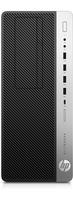 HP EliteDesk 800 G3 Tower-PC (Schwarz, Silber)