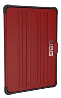 Urban Armor Gear IPD17-E-MG 9.7Zoll Mobile phone folio case Schwarz, Rot Tablet-Schutzhülle (Schwarz, Rot)
