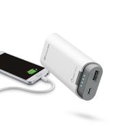 Cellularline FreePower 5200 Lithium 5200mAh Grau, Weiß Akkuladegerät (Grau, Weiß)