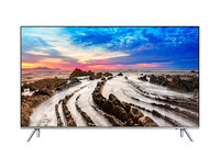 Samsung MU7009 55Zoll 4K Ultra HD Smart-TV WLAN Silber LED-Fernseher (Silber)