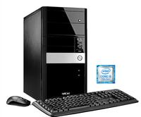 Hyrican PCK05523 3GHz i5-7400 Schwarz, Silber PC PC (Schwarz, Silber)